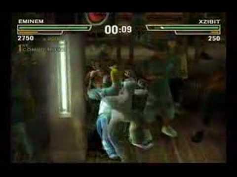 Def jam Fight For NY EMINEM vs XZibit