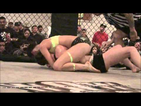 5150 Fightwear Presents W.O.W Courtney VS Cynthia Oil Wresting