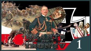 Hearts of Iron IV The Great War - German Empire #1 - Multiplayer Madness
