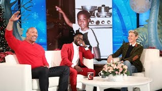 Dwayne Johnson Reveals Kevin Hart