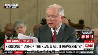 Jeff Sessions defends record on civil rights in opening statement