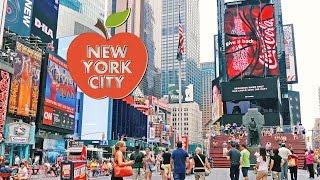 Streets of New York City, 4K video