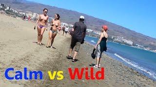 Spring break on the naturist beach Gran Canaria - nudist playa de Maspalomas