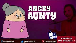 Angry aunty fully funny