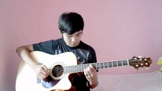 (WITH TAB)(PinoyBigBrother) Sad Instrumental - Guitar cover by Jorell