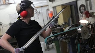 Adam Savage's One Day Builds: Swordmaking at Weta Workshop!