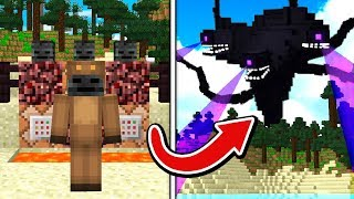 PLAYING MINECRAFT AS WITHER STORM!