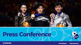 ISU World Figure Skating Championships 2019, Press Conference: Men Medalists