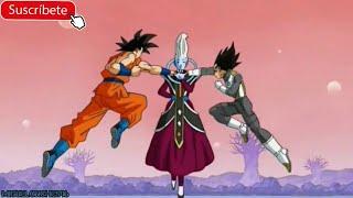 Wiss usa el Ultra Instinct/Migatte No Gokui contra Goku y Vegeta | Español latino | 1080p