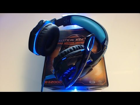 ★ CASCOS GAMING BARATOS | VIDEOREVIEW en GTA5 |  GAMING HEADSET |  EACH G2000