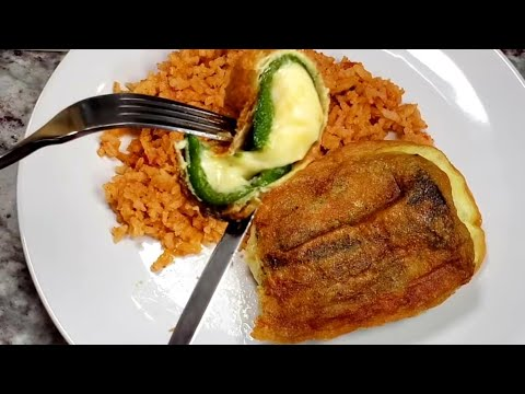 Potato and Cheese Chile Rellenos Mexican Style Stuffed Peppers Chile Relllenos Recipe
