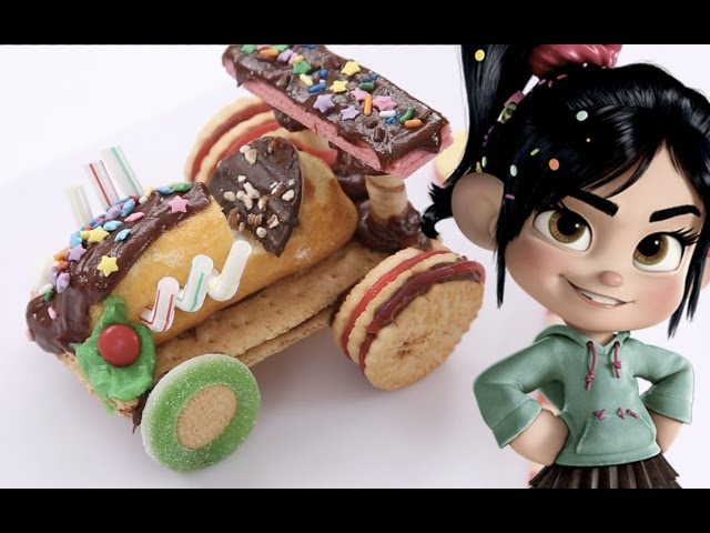 How To Make Vanellope's Race Kart | Wreck-It Ralph | Dishes by Disney