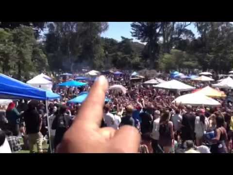 In hippie hill for happy 420,   4/20/13