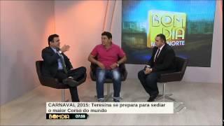 Meio Norte: Lázaro do Piauí fala da expectativa para o Corso de 2015