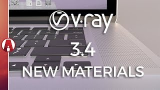 NEW MATERIALS Preview | Vray 3.4 for Sketchup BETA