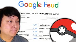 POKEMON GO IS TAKING OVER | Google Feud | #4