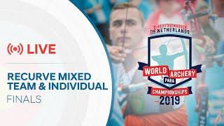 Live: Recurve mixed and individual finals | 's-Hertogenbosch 2019 Hyundai World Championships