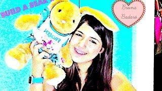 Meu build a bear (construa/faça seu urso) - Bruna Badaró