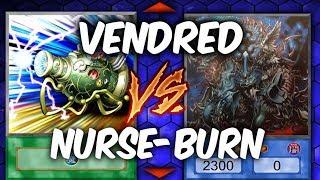 SURPRISE TROLLING! Yugioh NURSE BURN vs VENDREAD (Yu-gi-oh Troll vs Competitive Deck!)