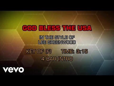 watch Lee Greenwood - God Bless The USA (Karaoke)