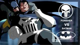 Batman VS Punisher ( Short Fight scene Part 1)