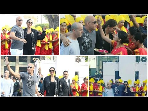 Xxx Mp4 UNCUT Vin Diesel Deepika Padukone Visit India For Promotion Of Film XXx Return Of Xander Cage 3gp Sex