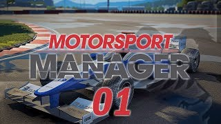 Motorsport Manager #01 ELYSIUM RACING Custom Team - MOTORSPORT MANAGER Let