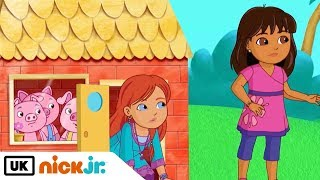 Dora and Friends | Big Bad Wolf | Nick Jr. UK