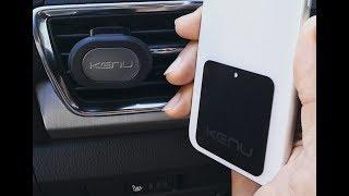 Новые магнитные автодержатели от Kenu