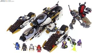 LEGO Ninjago 2016 Ultra Stealth Raider review! 70595