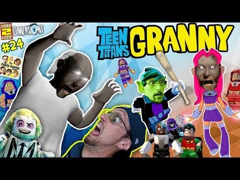 Xxx Mp4 GRANNY Plays LEGO W FGTEEV TEEN TITANS GO Stop Wicked Starfire LEGO DIMENSIONS Year 2 24 3gp Sex