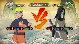 BATALLAS EPICAS Parte 2 - Naruto Shippuden Ultimate Ninja STORM Revolution