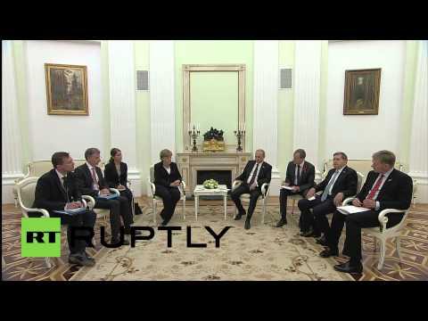 Russia: Putin and Merkel to discuss Ukraine during bilateral talks