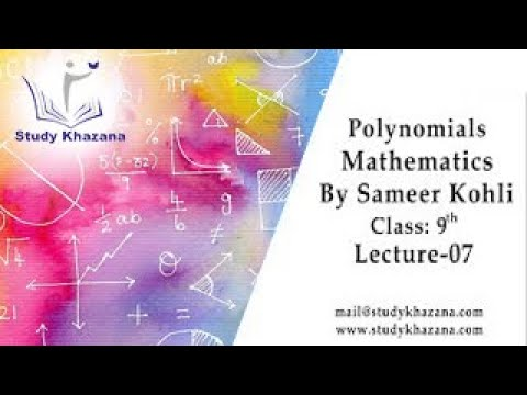 Xxx Mp4 Polynomials Maths Class 9 Sameer Kohli Study Khazana Video Lecture 3gp Sex