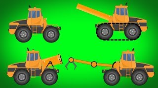 Kids TV Channel | Transformer | Tank | Snow Gum | Claw Truck | Video For Kids | Futuristic Vehicles