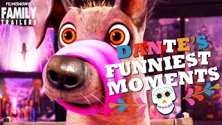 """COCO   Funniest DANTE """"The Loveable Dog"""" Moments - Disney Pixar Animation"""