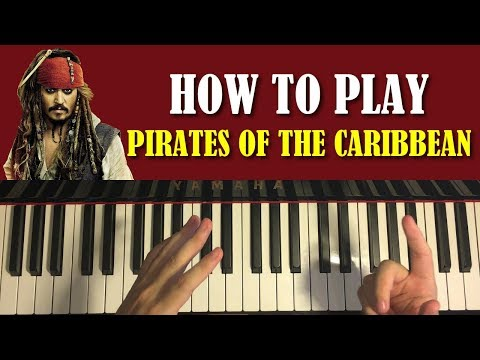 Xxx Mp4 HOW TO PLAY Pirates Of The Caribbean Theme Piano Tutorial Lesson 3gp Sex
