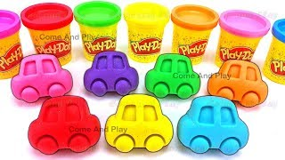 Learn Colors Play Doh Cars Superhero ELMO Disney Minnie Mouse Molds Surprise Toys Fun For Kids