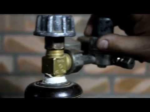 Замена вентиля на газовом баллоне своими руками