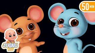 Do Chuhe The Mote Mote | दो चूहे थे  | hindi poem | hindi rhymes for children by jugnu Kids