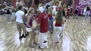 Croatian Summer Salsa Festival - Workshop Reynaldo Salazar et Catherine Roth