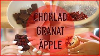 #BakMedLinn ♥ | Chokladtäckta granatäpplen
