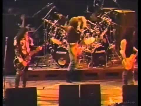 KISS Soundchecks - Hot In The Shade tour - 1990 - YouTube.flv