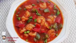 Sweet and Sour Prawns||Bangladeshi Chinese Resturant Style Prawn Recipe