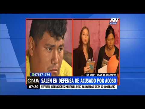 Familiares salen en defensa de acusado por acoso sexual