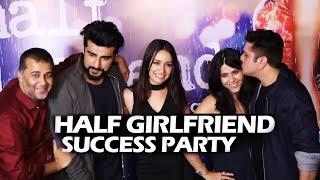 Half Girlfriend SUCCESS PARTY | Full HD Video | Arjun Kapoor, Shraddha, Ekta, Mohit Suri, Karan