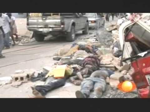TERREMOTO HAITI 12 de Enero 2010 CRONOLOGÍA