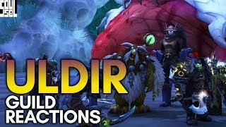 Uldir Raid Reaction Super Cut With My Guild! - World of Warcraft Battle for Azeroth