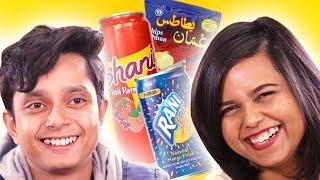 Indians Taste Test Gulf Snacks   BuzzFeed India