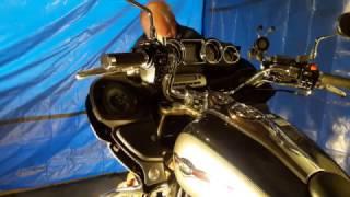 Faring removal, Kawasaki Vulcan Voyager 1700